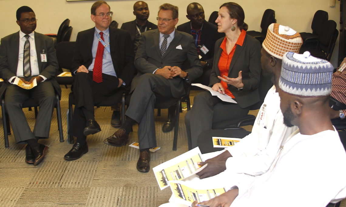 U S  Special Envoy Holds Roundtable with Religious Leaders
