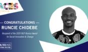 2020 IVLP Alumni Award Runcie Chidebe