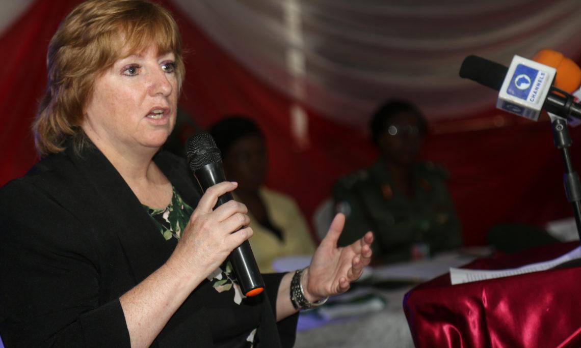 U.S. Deputy Chief of Mission in Nigeria, Kathleen FitzGibbon