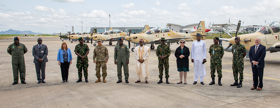 U.S.-made A-29 Super Tucano Aircraft Officially Inducted into Nigerian Air Force