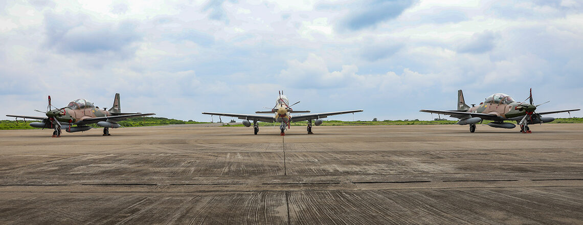 The United States Welcomes the Arrival of the A-29 Super Tucanos