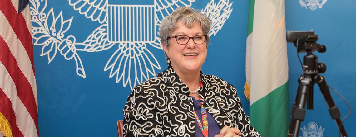 Remarks of Ambassador Mary Beth Leonard at the Virtual Meeting with 2020 Mandela Washingto