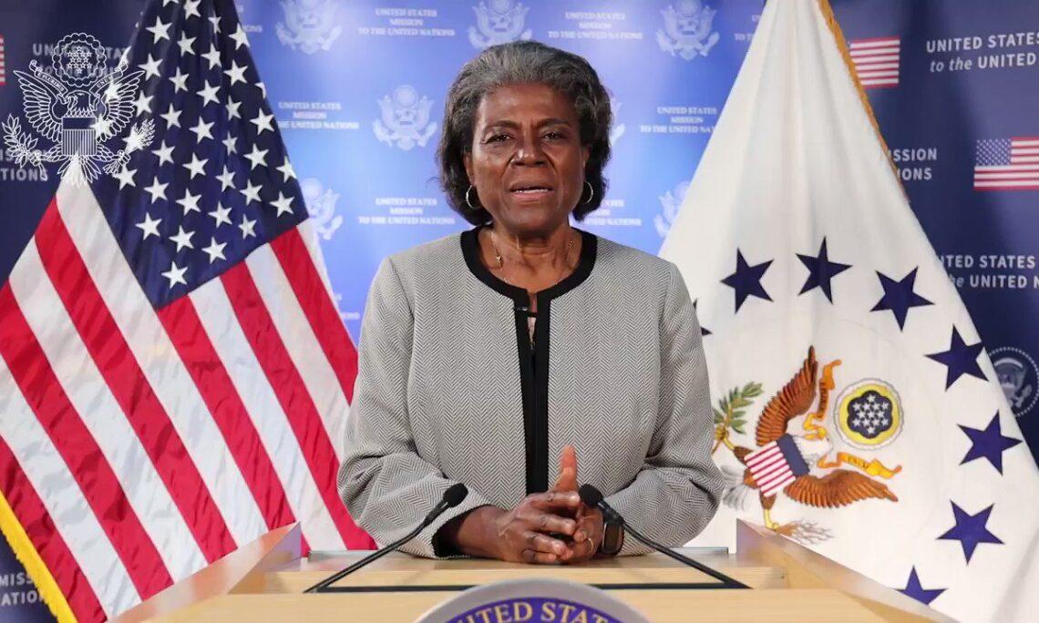 United States Ambassador to the United Nations Linda Thomas-Greenfield
