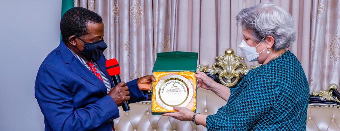 U.S. Ambassador assures Governor Lalong of support towards HIV epidemic control in Plateau
