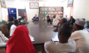 Chargé d'Affaires David Young meeting with participants of U.S exxhange programs at the American Corner in Sokoto
