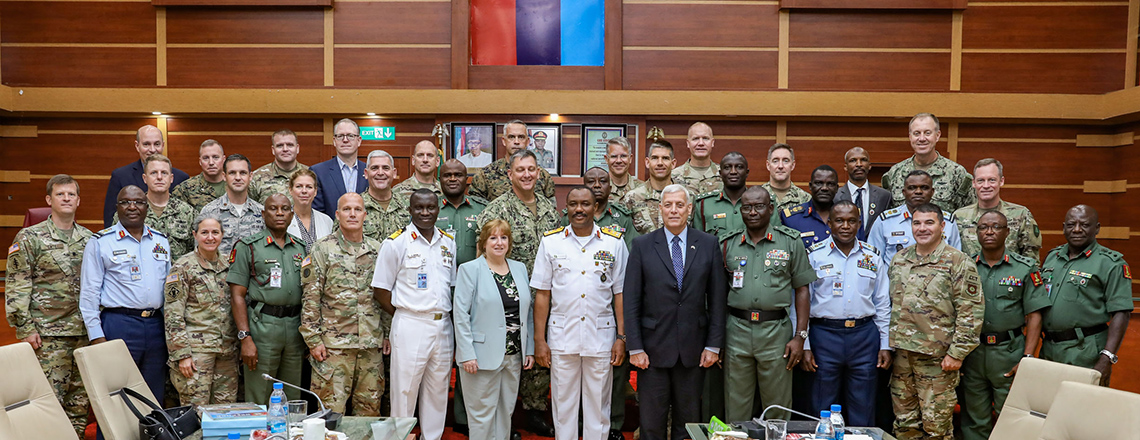 U.S. Delegation Visits Nigerian Defense Headquarters as Part of Capstone Experience