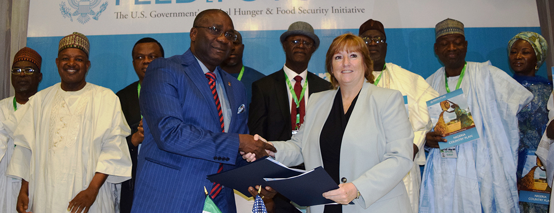 U.S. Signs Declaration of Partnership with Nigeria to Improve Food Security