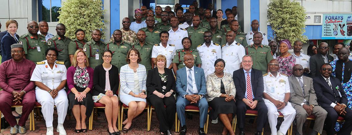 U.S. Deputy Chief of Mission Lauds U.S. and Nigerian Military Partnerships on Health