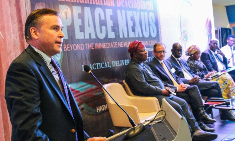 U.S. Ambassador to Nigeria W. Stuart Symington.