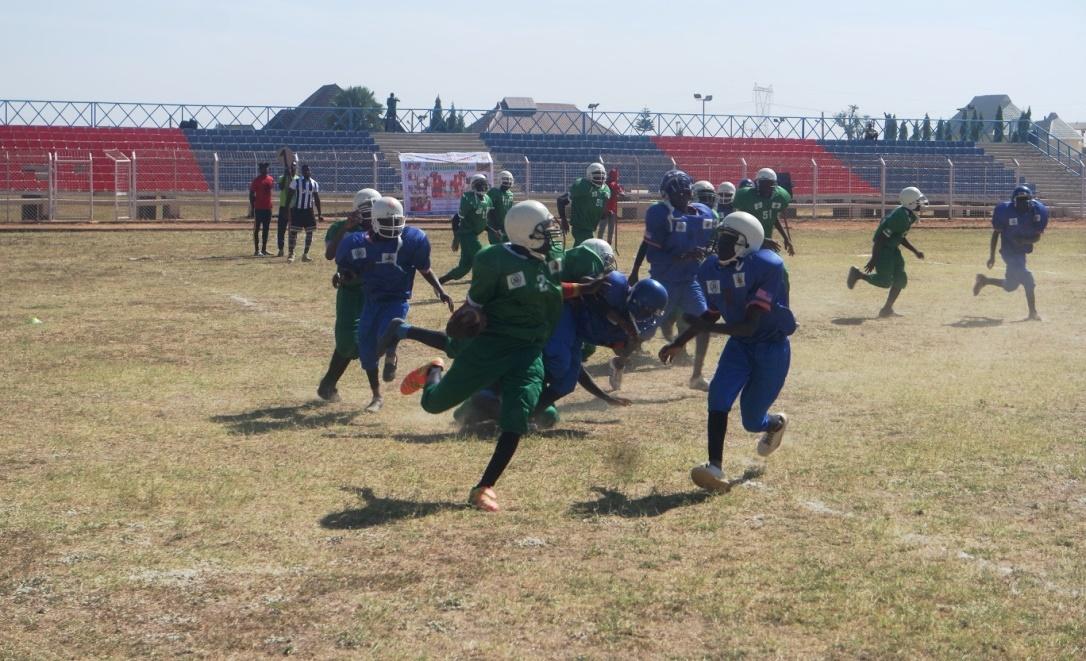 U S Embassy Supports Nigeria S Inaugural American Football Youth Championship U S Embassy Consulate In Nigeria
