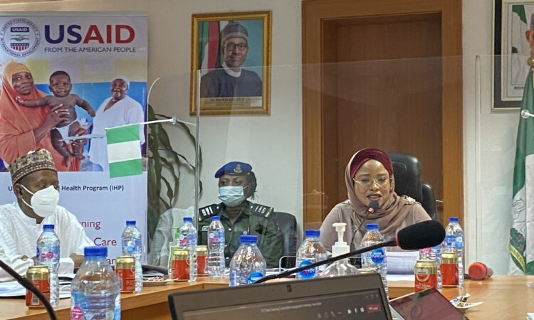 Minister of State for Nigeria's Federal Capital Territory Hajia Ramatu Tijani Aliyu thanks USAID for supporting improvements in health service delivery for the Territory's three million residents.
