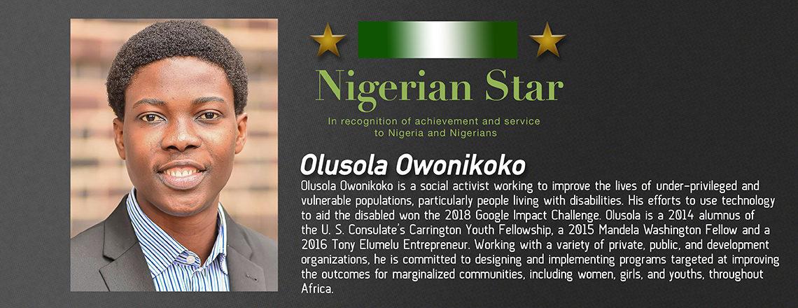 Nigerian Star – Olusola Owonikoko