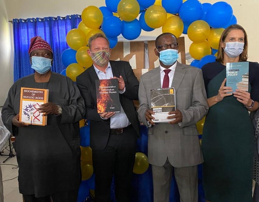U.S. Consulate KDU Book Donation