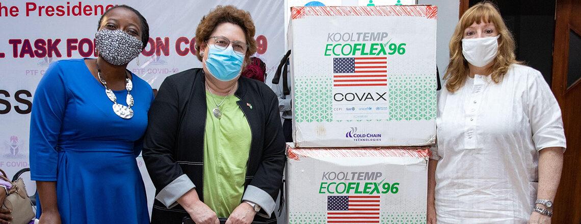 The United States Donates 4 Million COVID-19 Vaccine Doses to Nigeria
