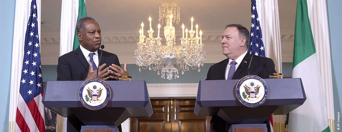 Secretary Michael R. Pompeo Statements to the Press With Nigerian Foreign Minister Geoffre