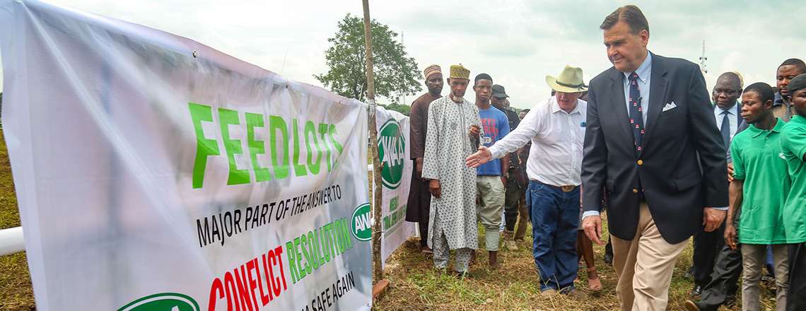 First American-Style Feedlot in Nigeria opens in Kogi
