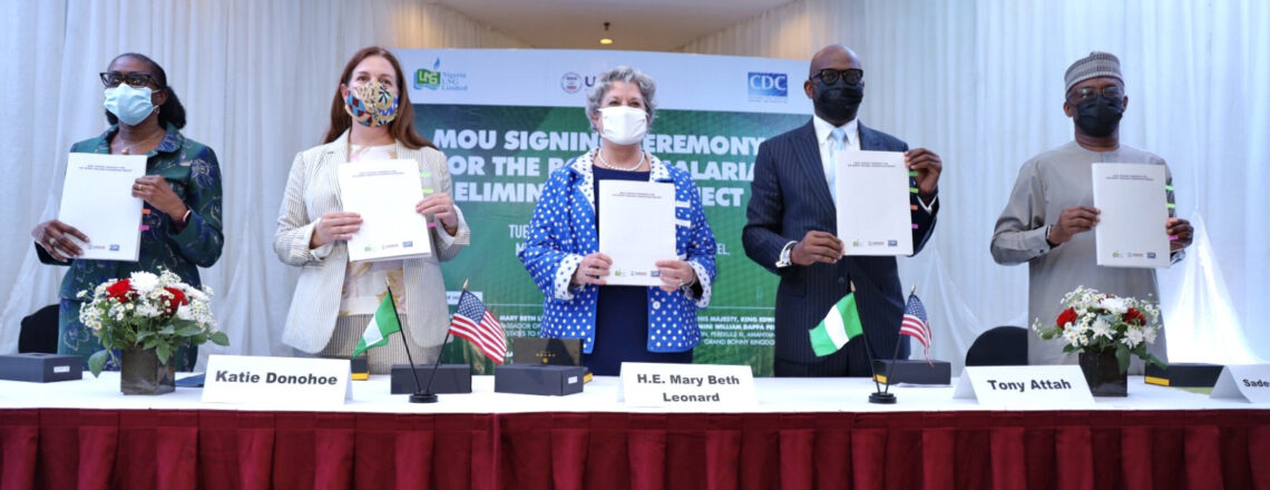 U.S. Signs MOU with Natural Gas Giant NLNG to Control Malaria on Bonny Island