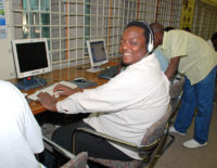 The late Tawanda Jere, was a regular user of the IRC facility in Harare