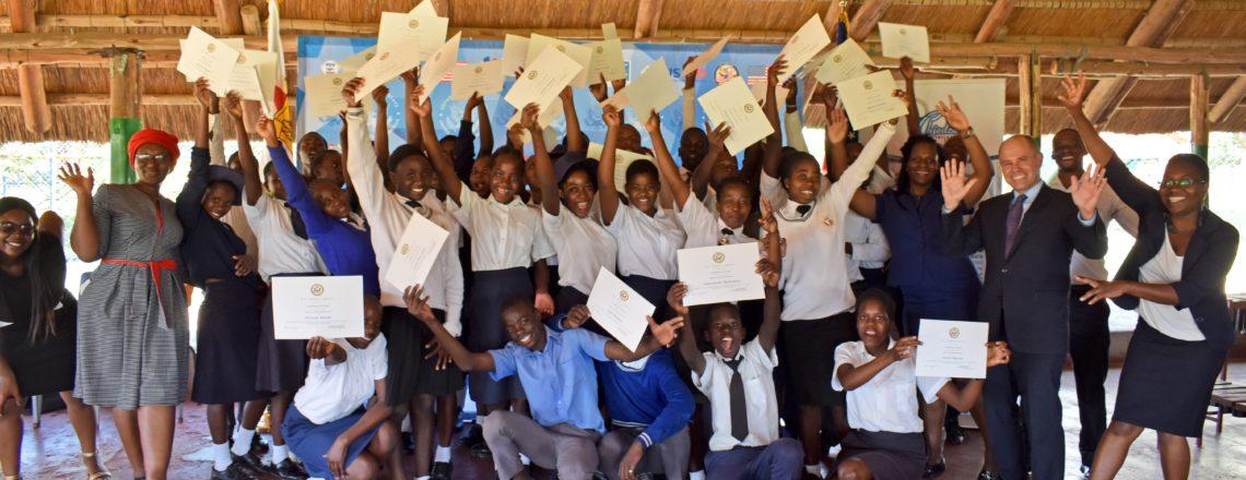 U.S. Embassy Sponsors 40 Harare Kids in English Language Program
