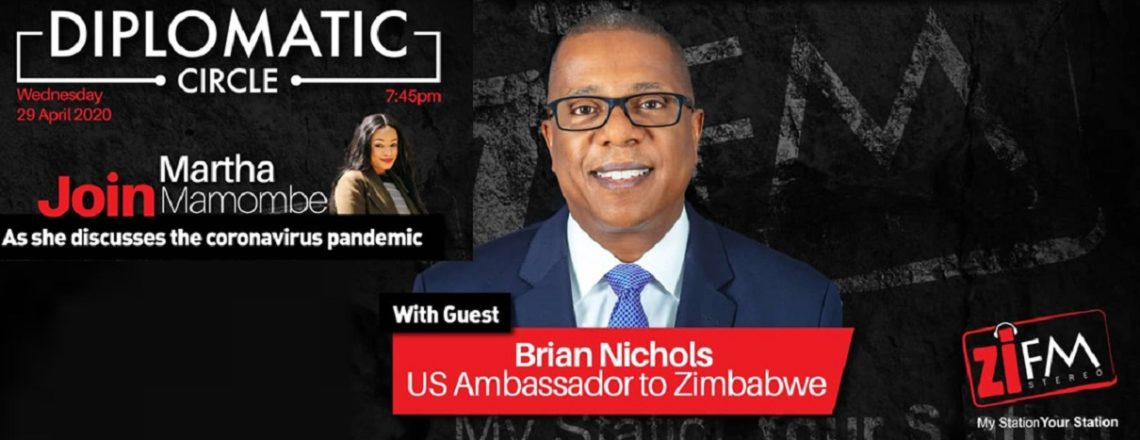 Ambassador Nichols interview with ZiFM Stereo on U.S. COVID-19 Response in Zimbabwe