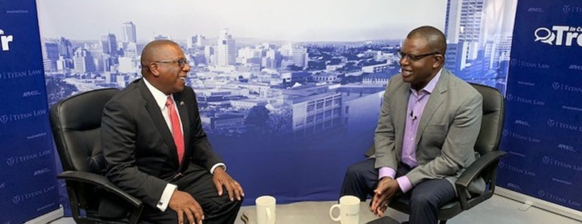 Ambassador Brian A. Nichols interview with Trevor Ncube
