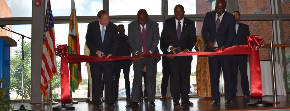 The Bureau of Overseas Buildings Operations Dedicates the New U.S. Embassy in Harare