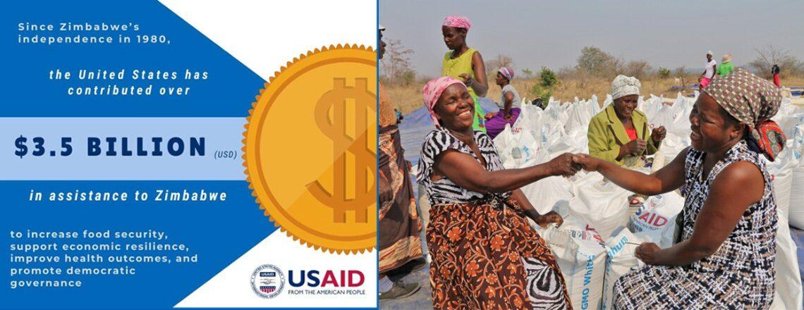 U.S. Government Assistance to Zimbabwe tops $3.5 billion since 1980