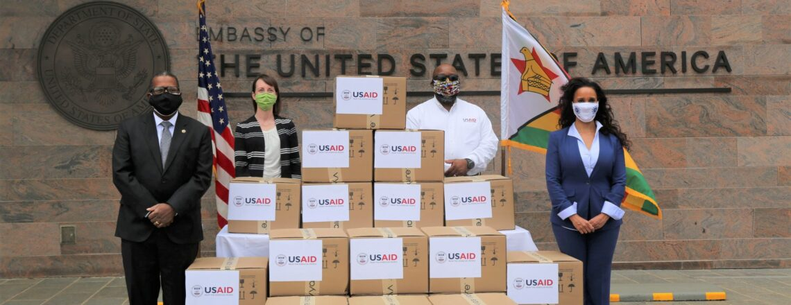 The United States Provides 20 Ventilators to Zimbabwe to Respond to COVID-19