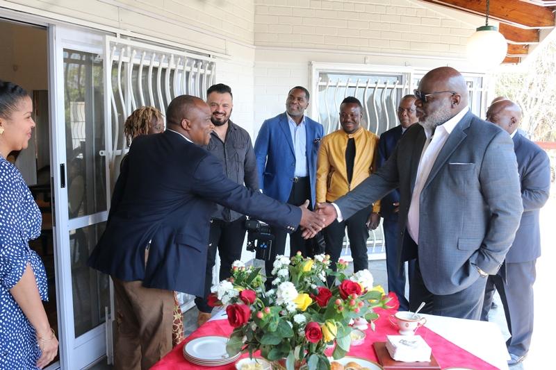 Influential U S  cleric, T D  Jakes, concludes Zim tour