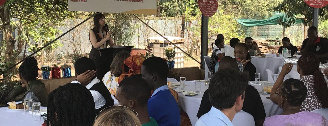 Ambassador Peterson attends Moya Centre Open House Event