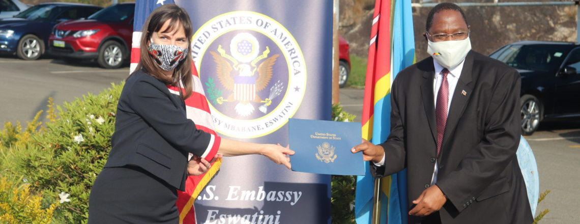 The United States dedicates goods and services valued at nearly E94 million to Eswatini