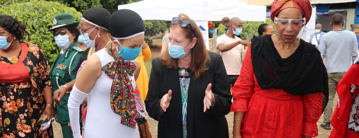 Ambassador Jeanne Maloney Graces International Women's Day Commemoration