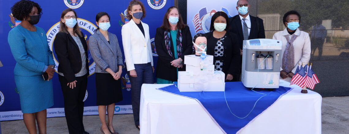 Embassy donates equipment, medical supplies, and PPE to Eswatini