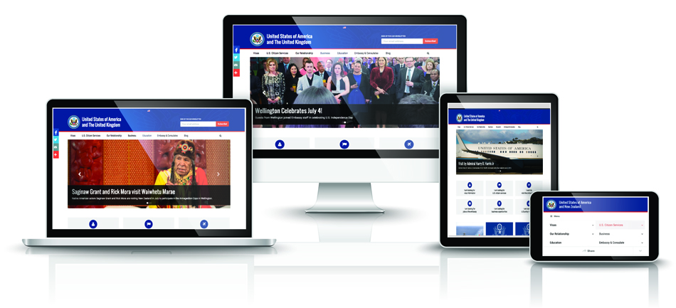 Check out our new site! Photo credit: U.S. Department of State.