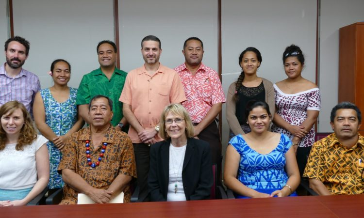 Dr. Leinen meets with members from the Ministry of Fisheries and Ministry of Natural Resources and Environment.. Photo credit: U.S. Department of State.