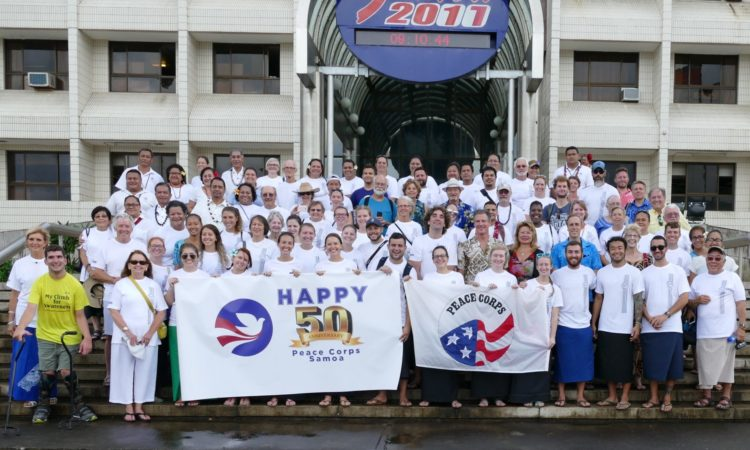 50th Anniversary of Peace Corps Samoa. Photo credit: U.S. Department of State.
