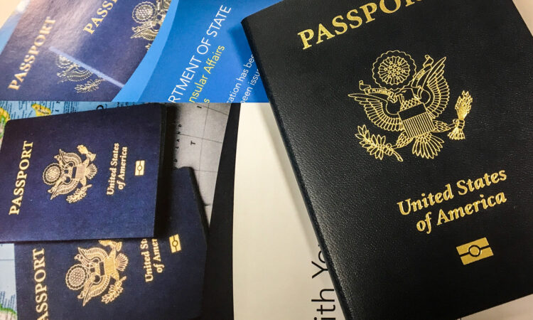 U.S. Passport.