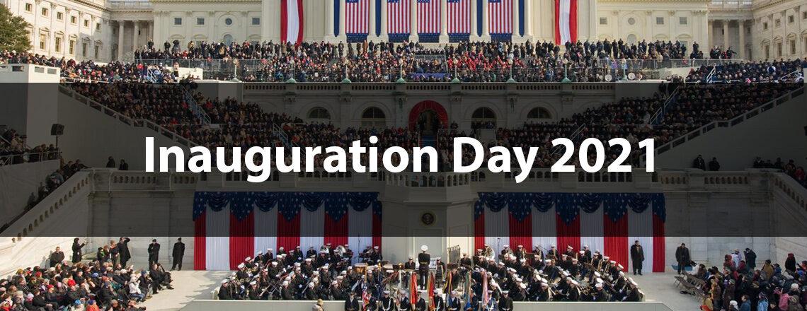 The inauguration of Joe Biden 2021