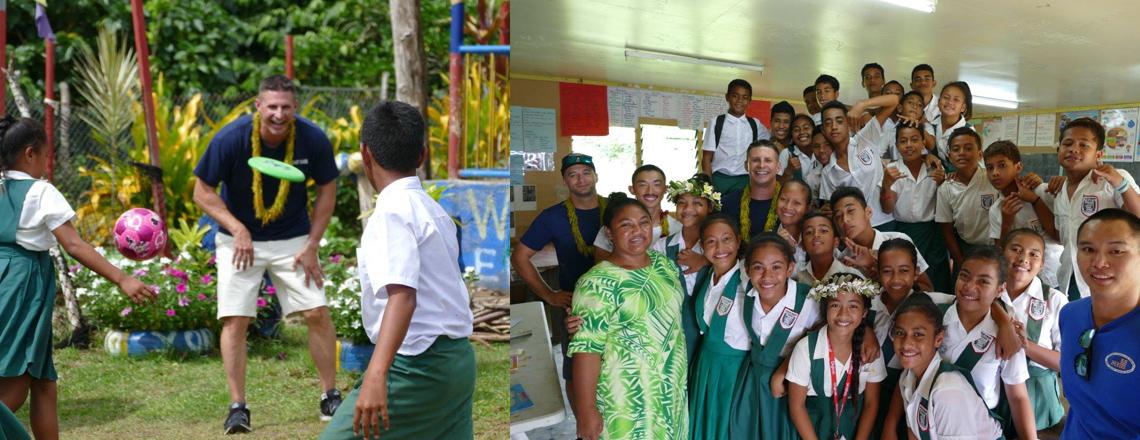 Operation Aiga: U.S. Coast Guard Teams With Samoa Maritime Personnel to Patrol Samoan Wate