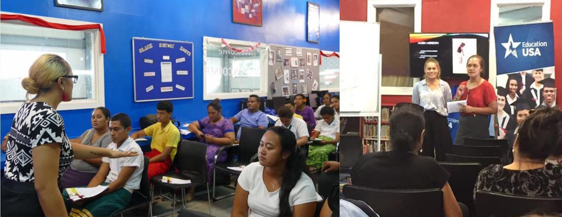 EducationUSA Samoa provides week-long session on U.S. Higher Education