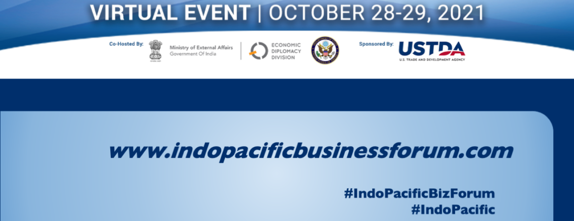 Registeration for the Indo-Pacific Business Forum Now Open