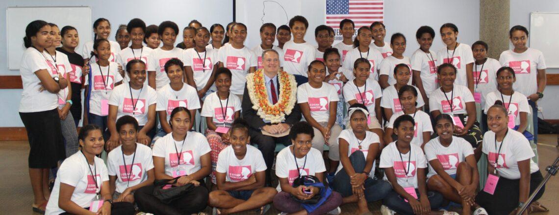 U.S. Embassy Sponsors STEAM Camp for Girls