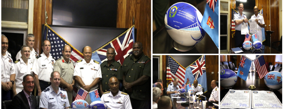 Republic of Fiji and Nevada Guard expand Oceania partnership