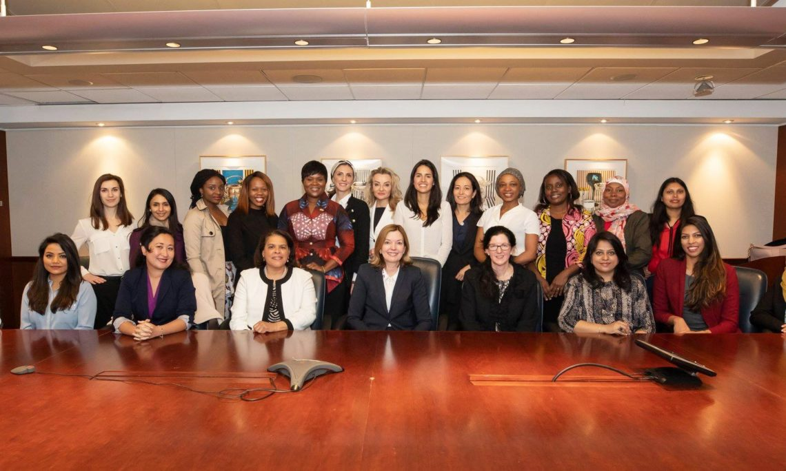 324c746906e Fortune's Most Powerful Women To Mentor Women Leaders From Around ...
