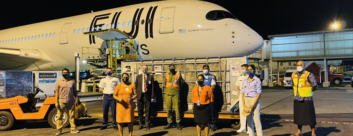 The United States Donates 150,080 Moderna Vaccine Doses to Fiji