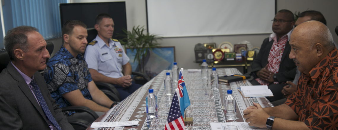 United States Signs Shiprider Agreement with Fiji