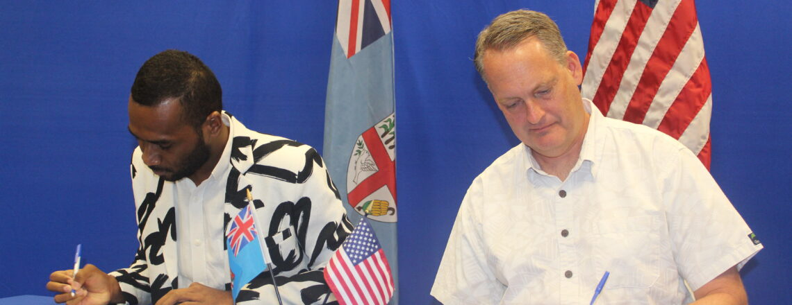 U.S. Embassy Suva Awards Grant for Integrity Fiji