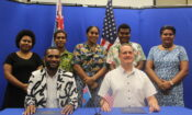 Integrity Fiji Grant Signing Group Shot
