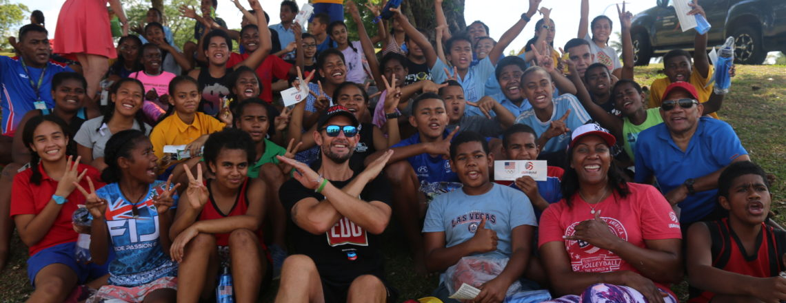 Sports Envoy to deliver innovative STEAM education lessons with Fijian teachers and youth
