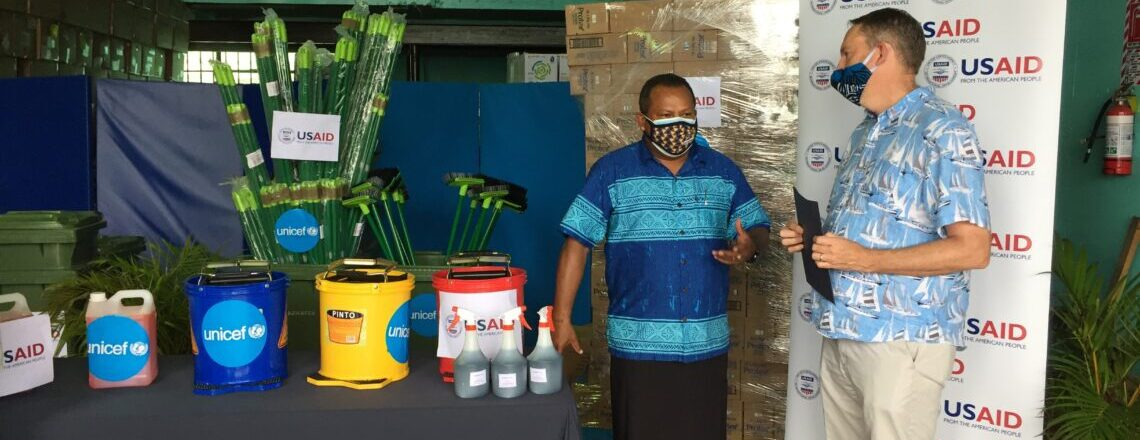 USAID Partners with UNICEF to Provide Critical COVID-19 Response Supplies to Fiji
